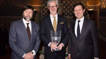 Premio Pitti Uomo: Claudio Marenzi, Claudio Del Vecchio e Dario Nardella