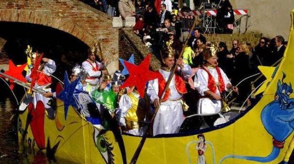 Il Carnevale sull'Acqua di Comacchio