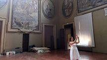 Uno degli ambienti di Palazzo Pallavicini in via San Felice, nuova 'casa' di SetUp dall'1 al 5 febbraio