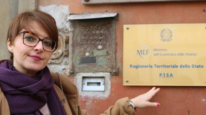 La sede della Ragioneria Territoriale dello Stato  in piazza Carrara (Foto Valtriani)
