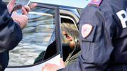 I rilievi degli agenti di polizia (foto Migliorini)