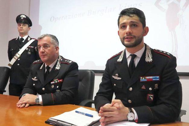 I carabinieri hanno sgominato una banda di ladri, tutti albanesi (foto Migliorini)