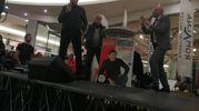 Gianni Morandi promuove il suo nuovo album al Romagna Shopping Valley