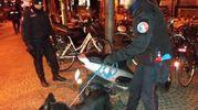 I carabinieri hanno utilizzato anche un cane per fiutare la droga
