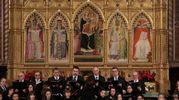Santa Croce, il concerto dell'Accademia Vittore Veneziani per gli 80 anni dell'Istituto di scienze militari aeronautiche (Cabras/New Press Photo)