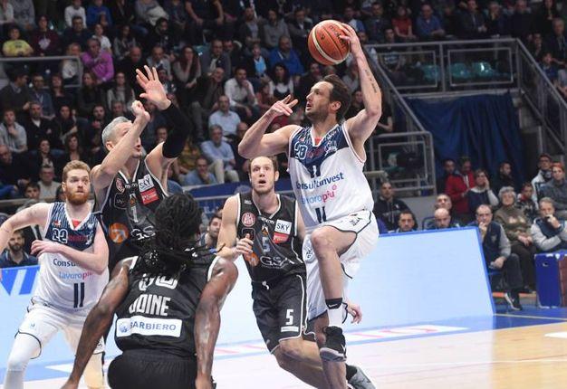La Fortitudo batte Udine 76-67 (foto Schicchi)