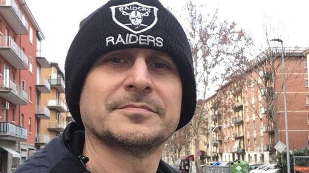 Danilo Masotti in via della Repubblica