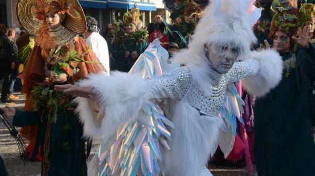 Un'immagine del Carnevale di Viareggio 2017 (Umicini)