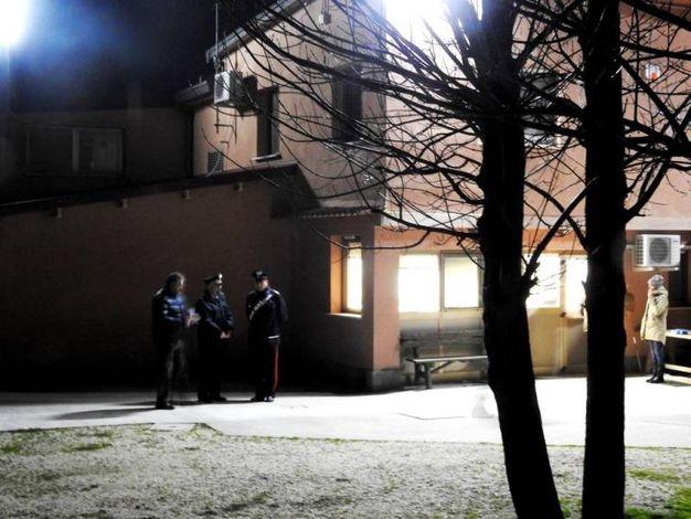 Sul posto i carabinieri di Alfonsine e del Radiomobile (Scardovi)
