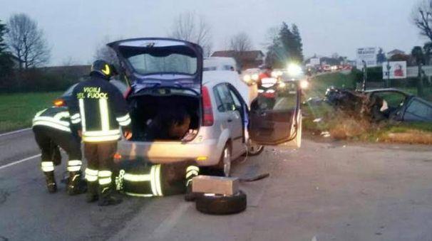 L'incidente a Montecchio