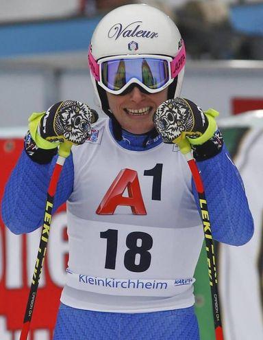 Nadia Fanchini (Ansa)