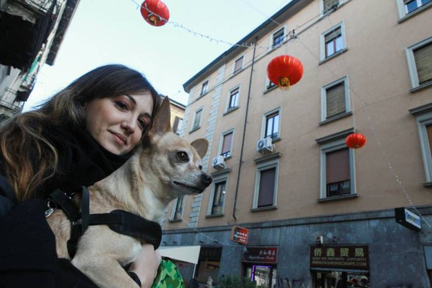 Via Paolo Sarpi si  tinge di rosso per il Capodanno cinese