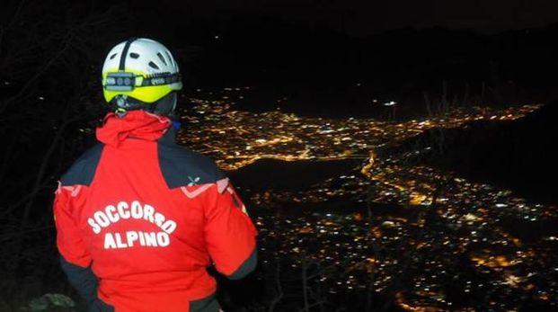 Un volontario del Soccorso alpino