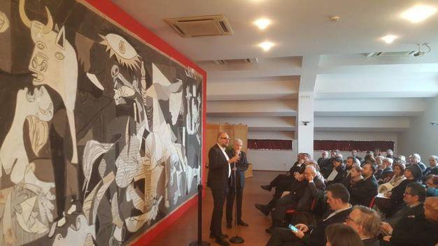 A Pieve di Cento l'opera di Picasso che servì per l'arazzo all'Onu. L'esposizione è aperta fino al 28 febbraio