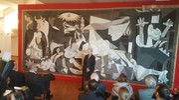 La mostra nasce da una lunga ricerca fatta dalla storica dell'arte Serena Baccaglini, dopo il ritrovamento del cartone in Francia