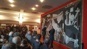 Il capolavoro, che rappresenta gli orrori della guerra su Guernica, è stato accolto con piacere in Emilia Romagna