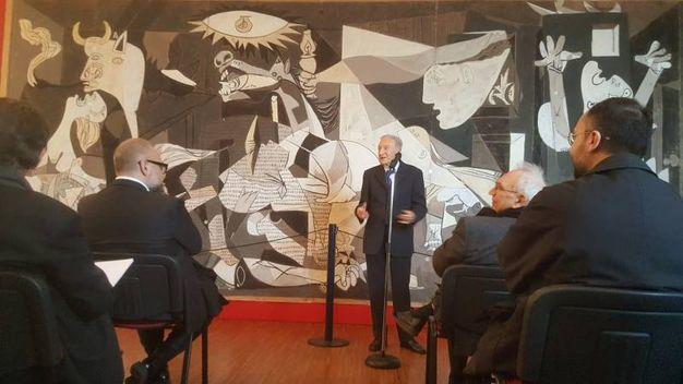 La presentazione dell'opera al Museo Magi '900