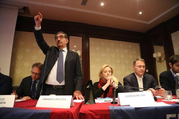 Ignazio La Russa (foto Schicchi)