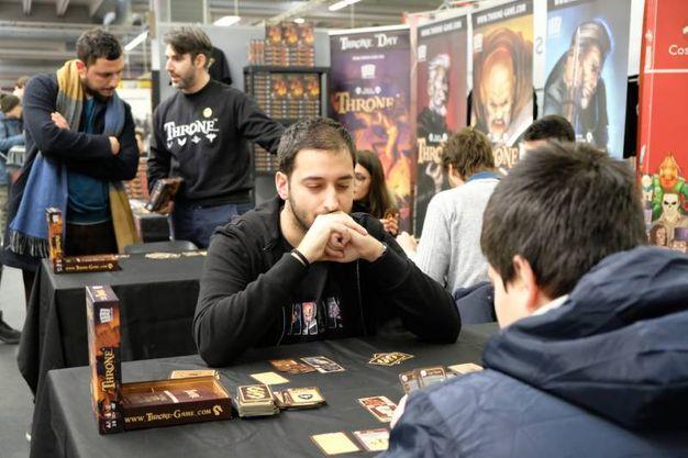 Carte di Game of Throne (foto Fiocchi)
