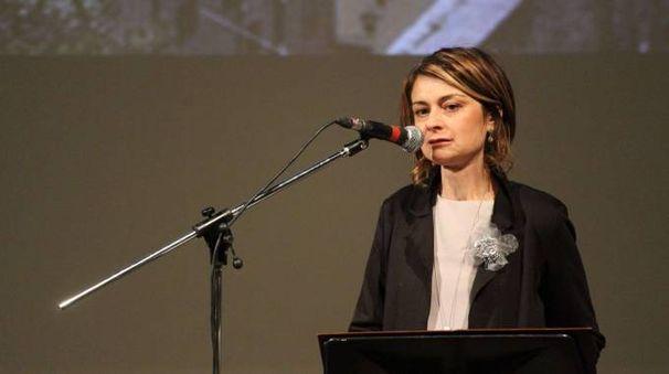 Il sindaco di Cortona Francesca Basanieri