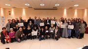 Il gruppo dei premiati (foto Schicchi)