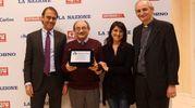 Il vincitore del primo posto, il presepe di Piazza Capitini (foto Schicchi)