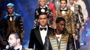 Dybala sfila per Dolce & Gabbana (Ansa)