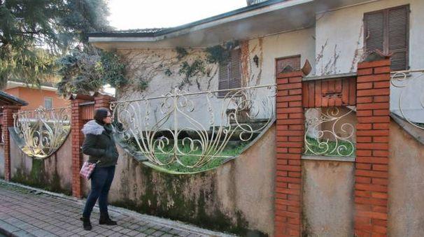 La villa in via Molise