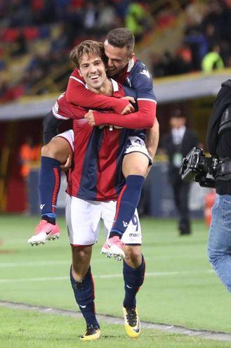 Con Di Francesco contro l'Inter (foto Ansa)