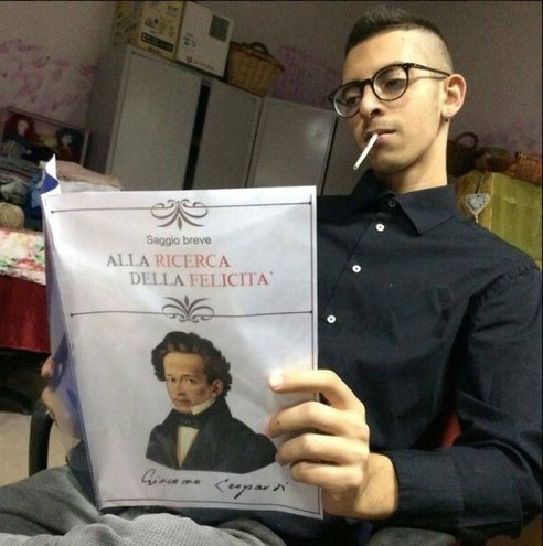 Giuseppe Parretta in un foto del suo profilo Facebook