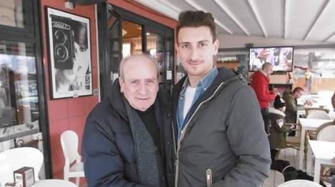 Eugenio Luppi con Franco Leoni Lautizi