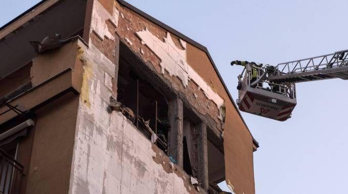 Esplosione palazzina di via Villoresi a Sesto San Giovanni
