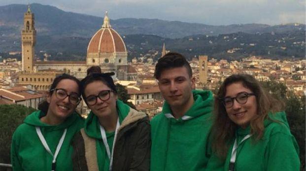 I quattro studenti coinvolti