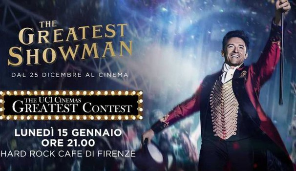 The Greatest Showman all'Hard Rock Cafe