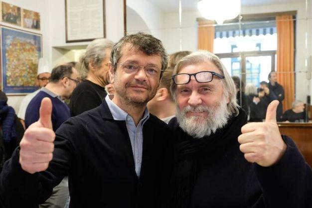 Andrea Segrè e Roberto Morgantini (foto Schicchi)
