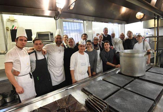 La cucina del Diana, tempio bolognese del cibo (foto Schicchi)