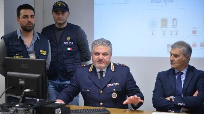 La conferenza stampa (foto Luca Castellani)