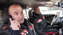 I carabinieri in azione (foto repertorio)