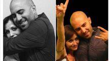 Dolores O'Riordan e Giuliano Sangiorgi (dal profilo Facebook del cantante italiano)