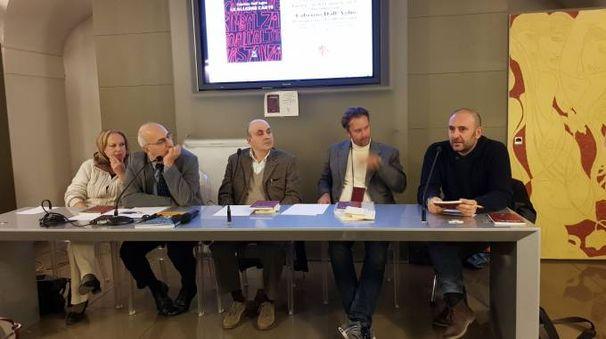 Incontro in Palazzo Medici Riccardi co Fabrizio Dall'Aglio (al centro nella foto)