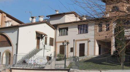 Il residence di Piobbico dove è avvenuta la tragedia nella notte tra domenica e lunedì