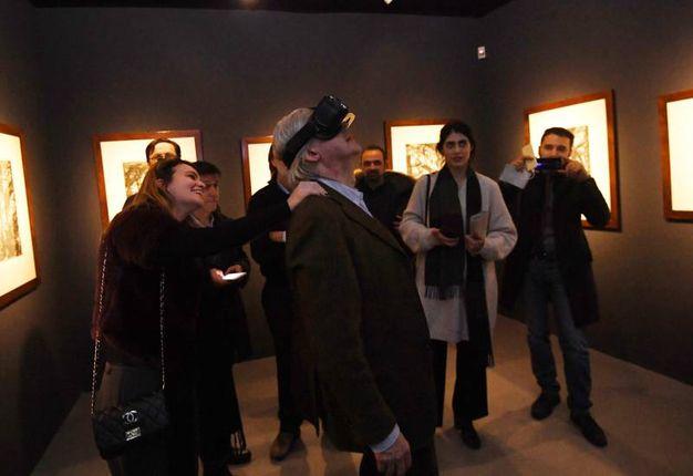 Esperienza multimediale... (Foto Schicchi)