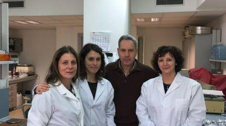 Il team di ricerca: Flavia Vallerini, Virginia Menicagli, Claudio Lardicci, Elena Balestri