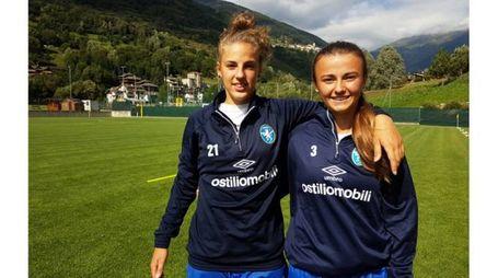 """Le due """"leoncine"""" Tomaselli e Boglioni fanno parte integrante della nazionale Under 17"""