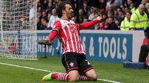 Mano Gabbiadini, 26 anni, con la maglia del Southampton