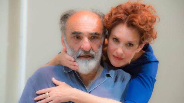 Alessandro Haber e Lucrezia Lante della Rovere