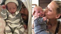 Enrique Iglesias e Anna Kournikova presentano i loro gemellini (Instagram)