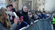 Foto e applausi dei fan (FotoFiocchi)