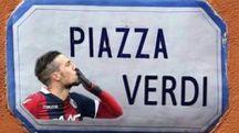 Piazza Verdi, così come rilanciata dai tifosi del Bologna