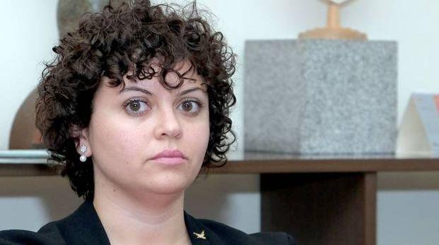 L'assessore alla Cultura Alessandra Magro
